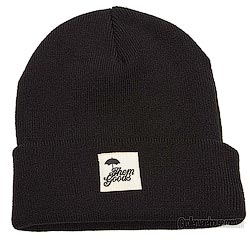 Themgoods Icon Black Beanie