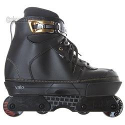 Valo TV 2 JJ Retro Complete Aggressive Skate Inlineskating-Artikel Black Hemp